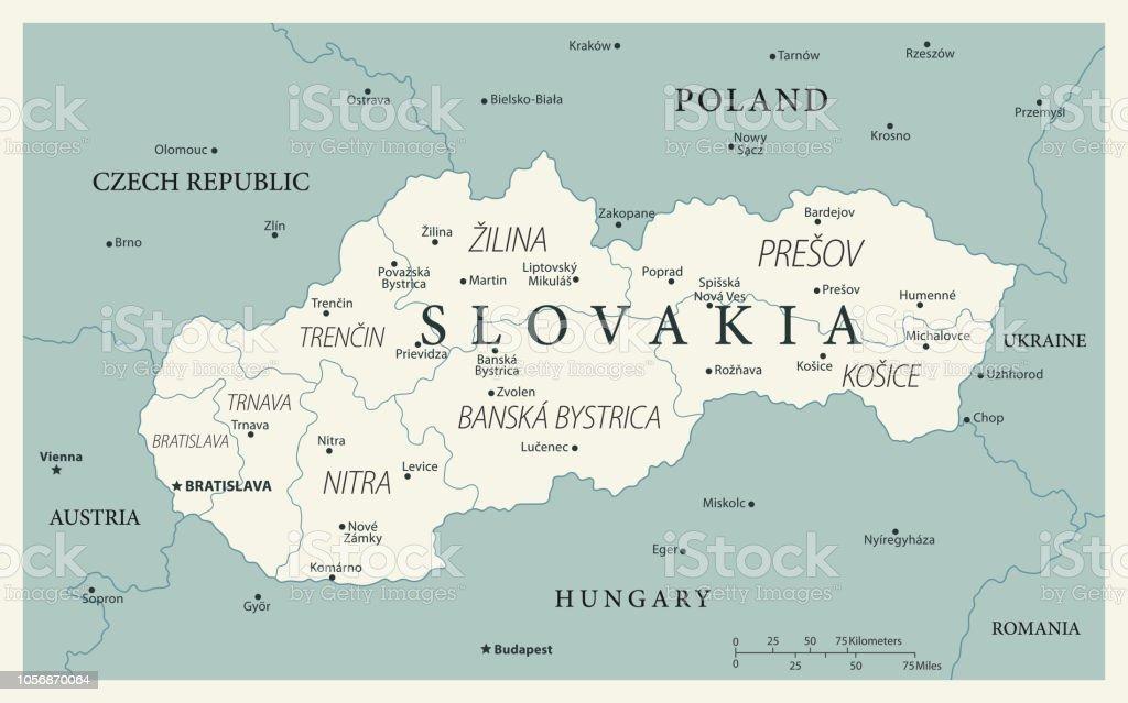 23 - Slovakia - Vintage Murena 10 vector art illustration