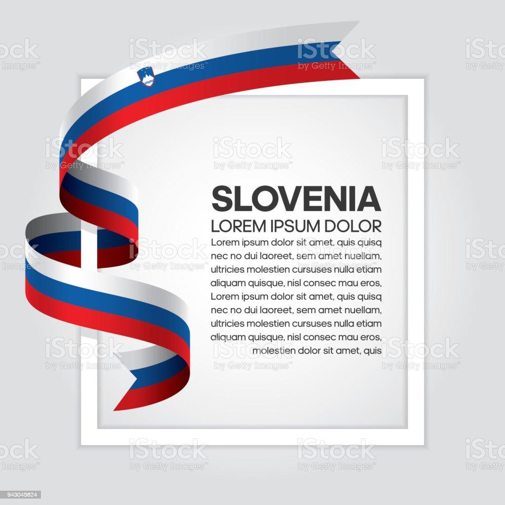 Frohe Weihnachten Slowenisch.Slovenia Flag Background Stock Vector Art More Images Of