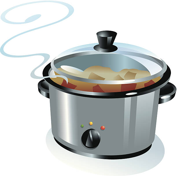 943 Slow Cooker Illustrations Clip Art Istock