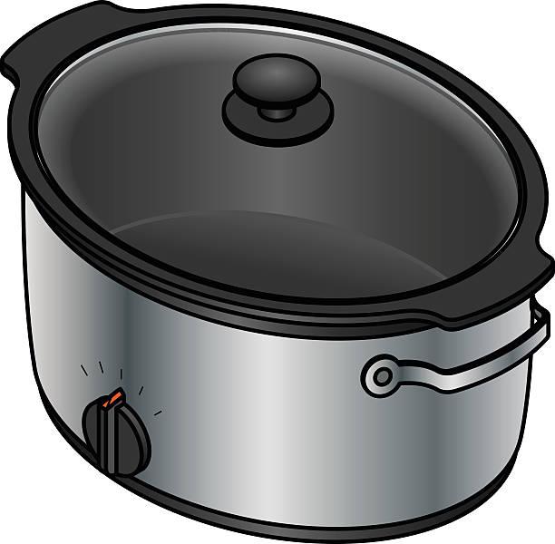 Cooker Clip Art ~ Royalty free slow cooker clip art vector images