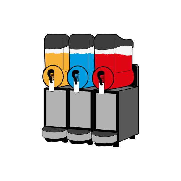 Slush-Maschine-Symbol – Vektorgrafik