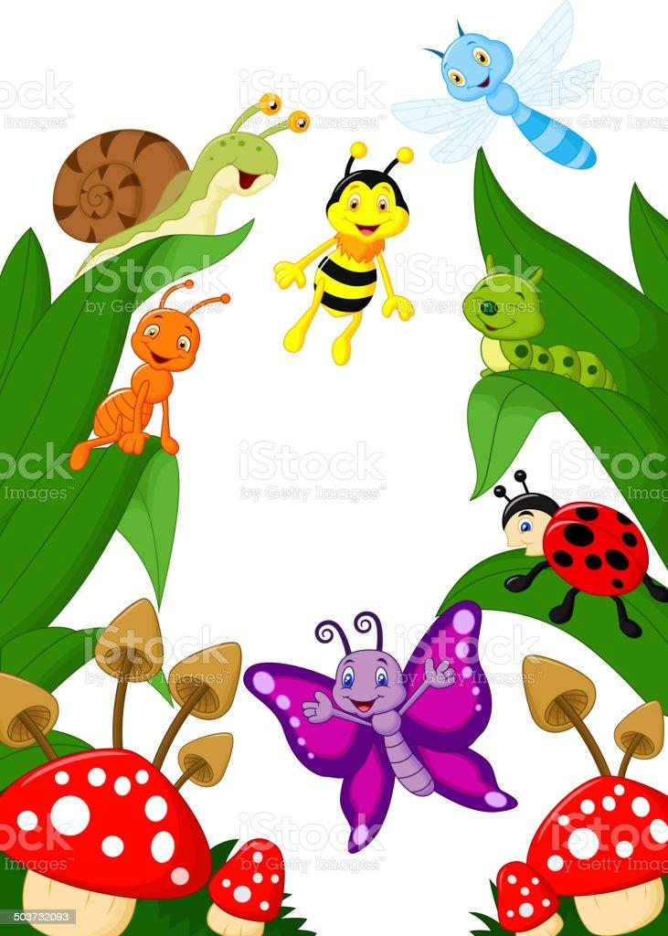 Small animals cartoon vector art illustration