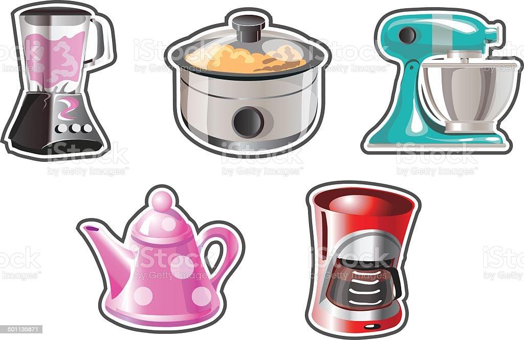 Cuisine, Cuisine Professionnelle, Batteur électrique, Cuisine Non  Professionnelle, Illustration. Petit Appareil électroménager Illustrations  ...
