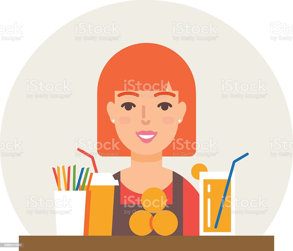 Small business - fresh juices bar vector illustration flat style royalty-free small business fresh juices bar vector illustration flat style stock vector art & more images of backgrounds
