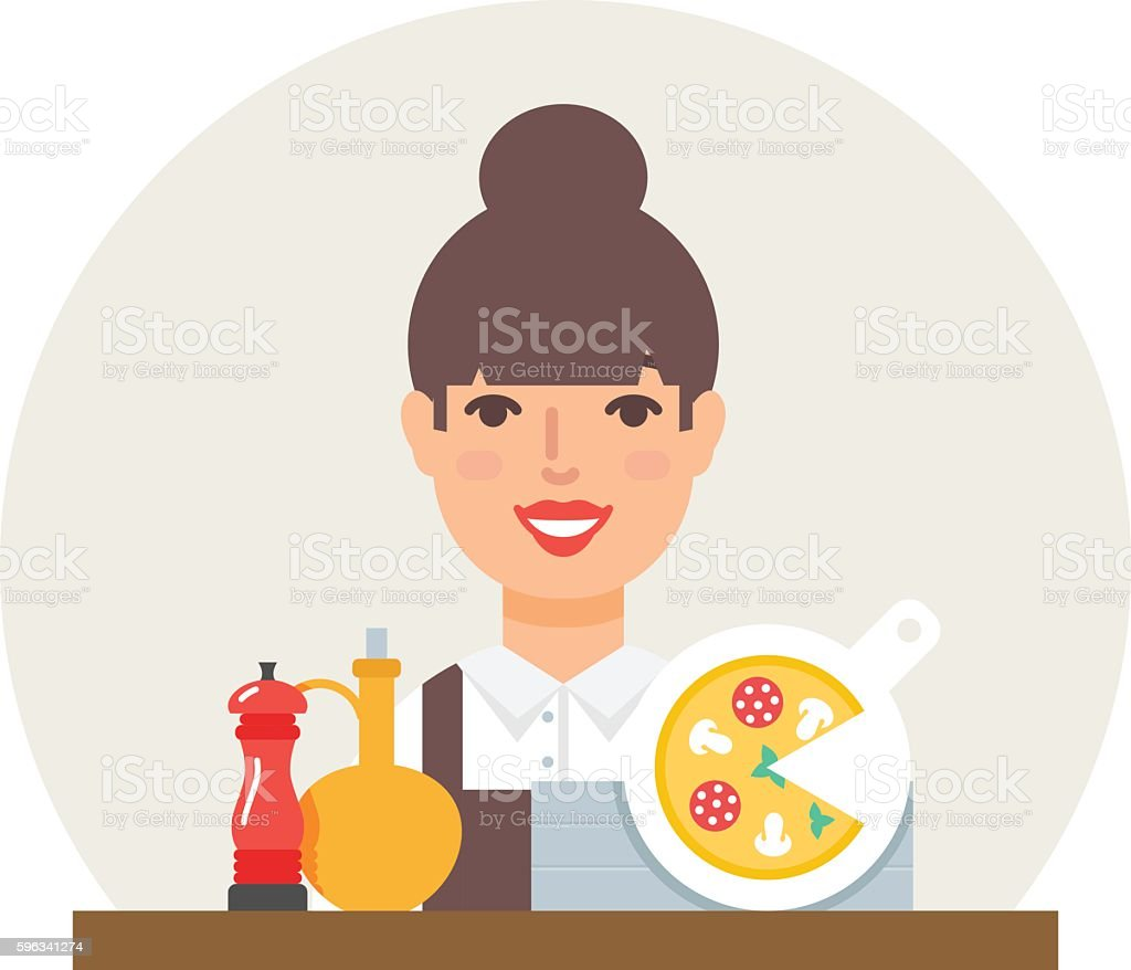 Small business - pizzeria vector illustration flat style royalty-free small business pizzeria vector illustration flat style stock vector art & more images of business