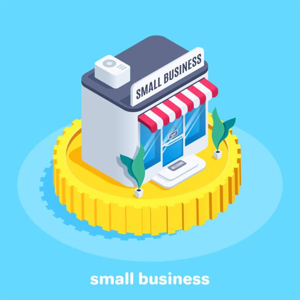 小型企業。 - small business saturday 幅插畫檔、美工圖案、卡通及圖標