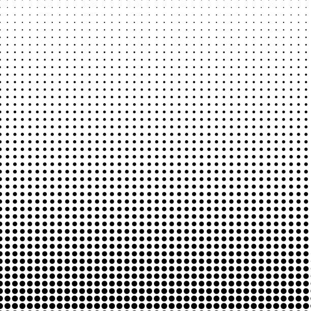 Small circular shape pattern, with vertical size gradient. Small circular shape pattern, with vertical size gradient. spotted stock illustrations