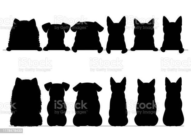 Small dogs and cats silhouette border set upper and full body vector id1178478433?b=1&k=6&m=1178478433&s=612x612&h=uevu038n6ne kwiyvm5xq9zzn81ypqlnxqgiv jsoto=