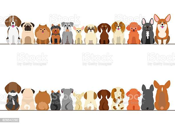 Small dogs border set front view and rear view vector id626542292?b=1&k=6&m=626542292&s=612x612&h=uhl9v0ysxw nvml7vzk3qbm0y6cuo6ask45ecipmp2e=