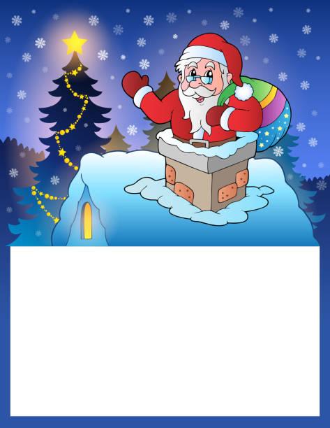 kleine gläser mit santa claus 4 - kaminverkleidungen stock-grafiken, -clipart, -cartoons und -symbole