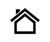 Small House Icon, Home Icon Vector Design