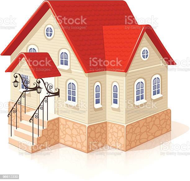 Small House-vektorgrafik och fler bilder på Arkitektur