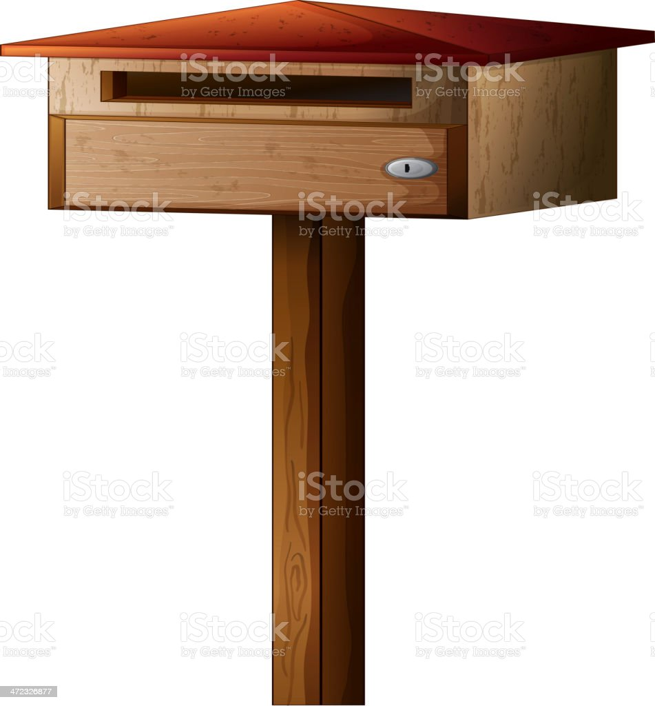 small mailbox royalty-free small mailbox stock vector art & more images of at the edge of