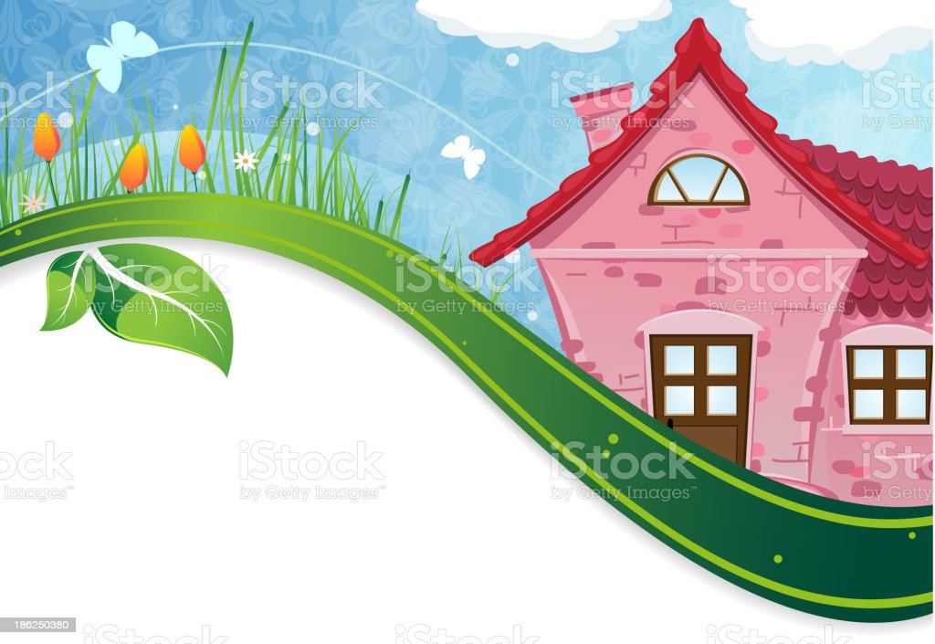 Small rural lodge royalty-free small rural lodge stock vector art & more images of backgrounds