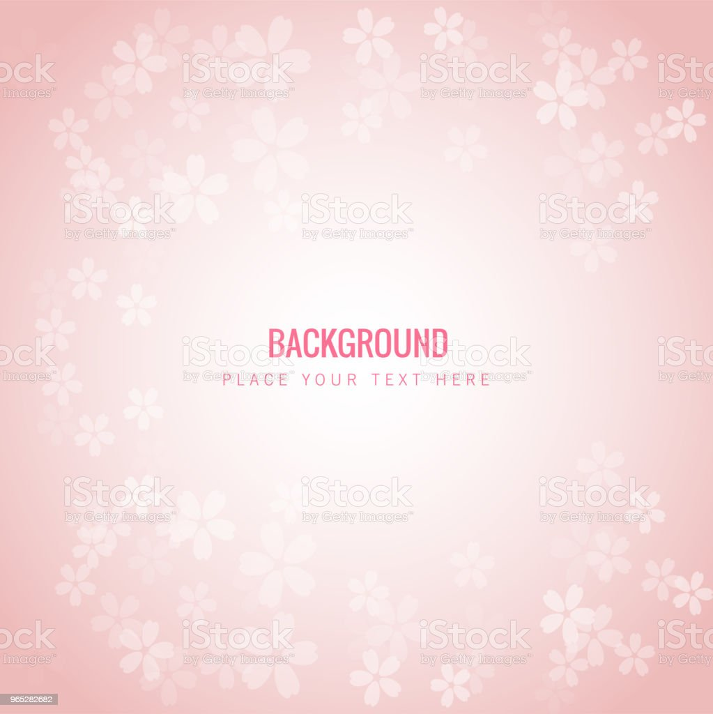 Small Sakura Blossoms Pink Background Vector Image royalty-free small sakura blossoms pink background vector image stock vector art & more images of abstract