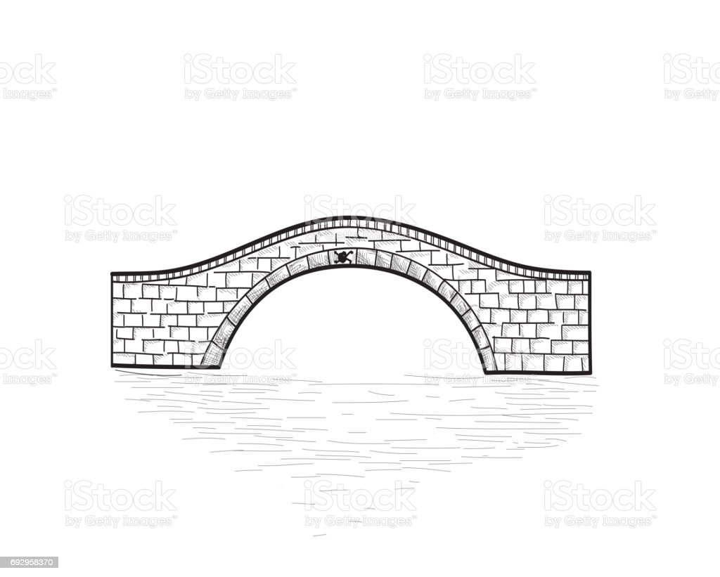 Royalty Free Small Bridge Clip Art Vector Images Illustrations Rh Istockphoto Com Flower Arch Gothic