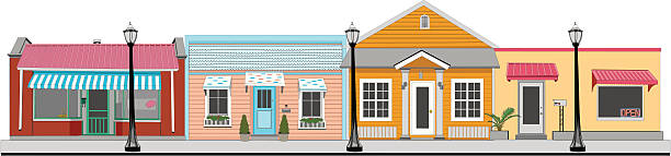 Best Small Town Illustrations, Royalty-Free Vector ...