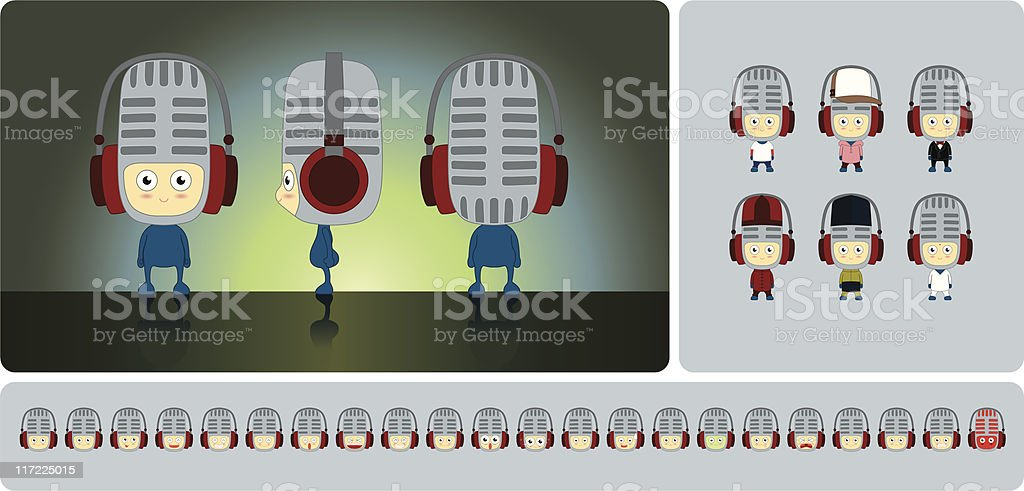 Mic royalty-free mic stock vector art & more images of admiration