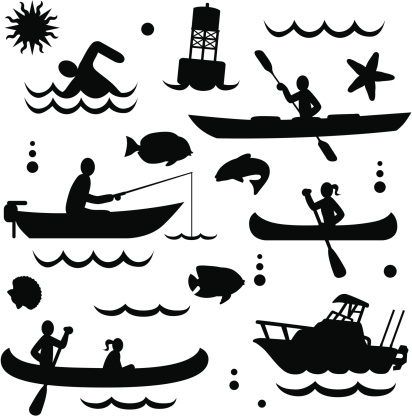 Download Kayak Fishing Clipart Vector In Ai Svg Eps Or Psd