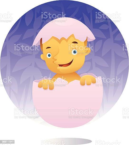 Smart Baby-vektorgrafik och fler bilder på Bebis