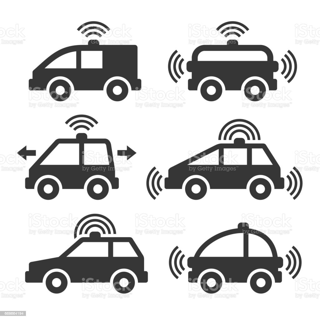 royalty free self driving car clip art  vector images  u0026 illustrations