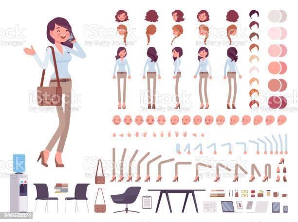 Smart casual woman character creation set vector id946665824?b=1&k=6&m=946665824&s=612x612&h=z6snkwfqmuaqxkt lhvwnbll mrvekq psc8lqjdmik=