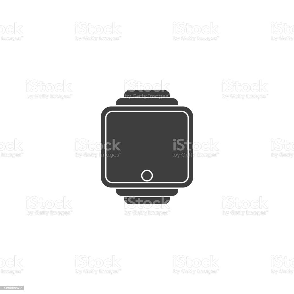 Smart clock icon. Vector on white background smart clock icon vector on white background - stockowe grafiki wektorowe i więcej obrazów baner royalty-free