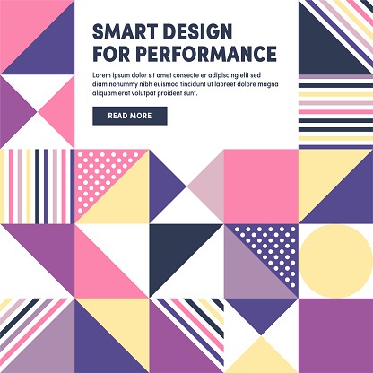 Smart Design Geometric & Abstract Vector Background