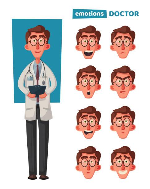 Cartoonsmart Character Design : Royalty free mad doctor clip art vector images