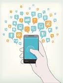 Smart features of smartphone.