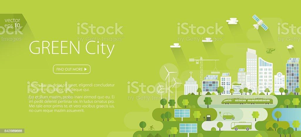 Smart Green City Banner