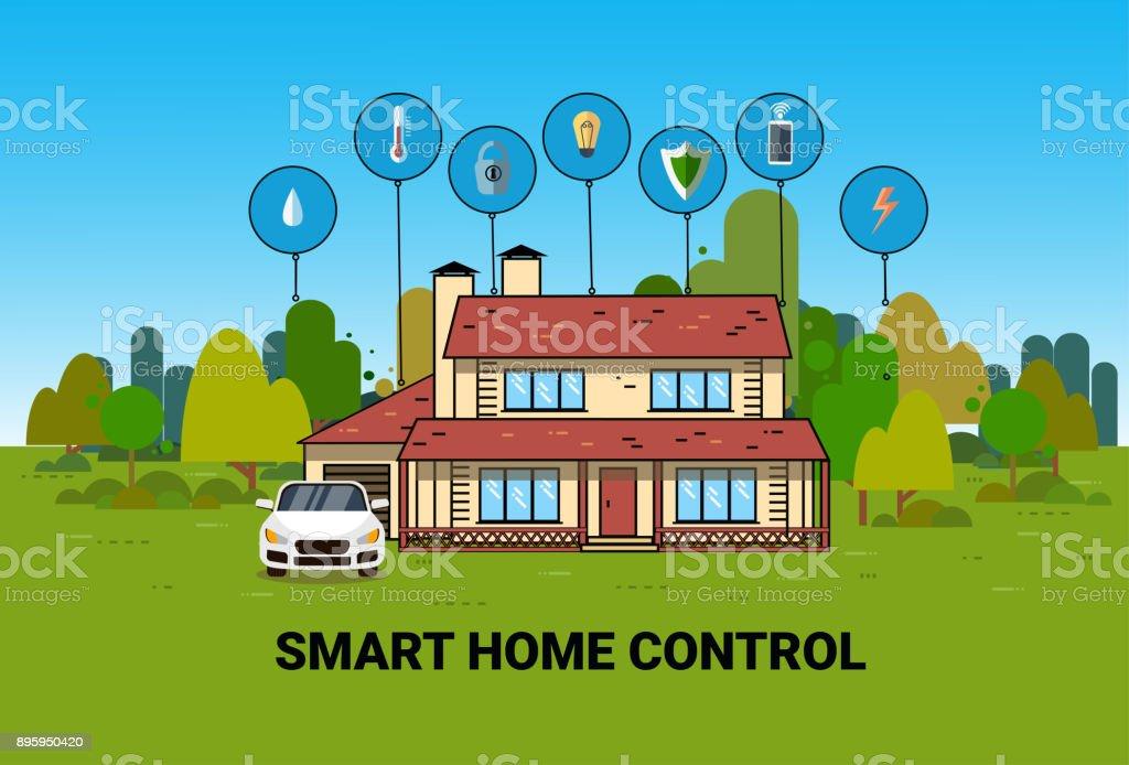 Smart Control Système Maison Moderne Technologie Système Domotique ...