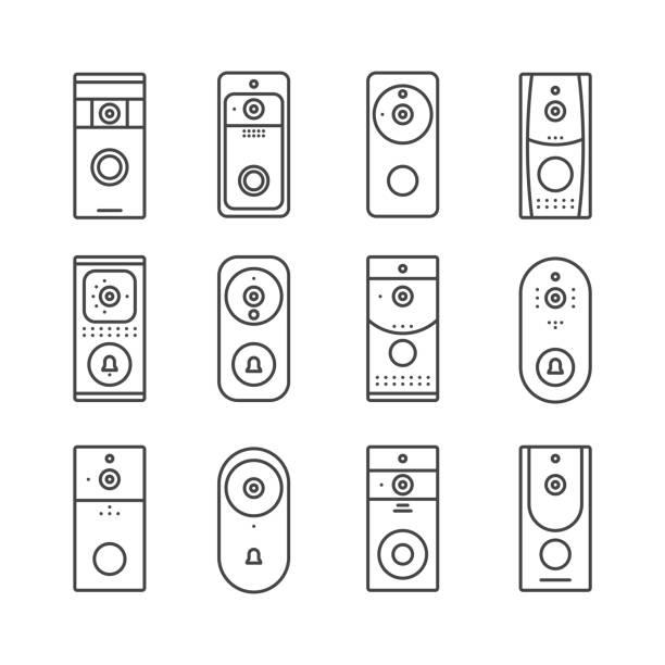 Top 60 Doorbell Clip Art, Vector Graphics and