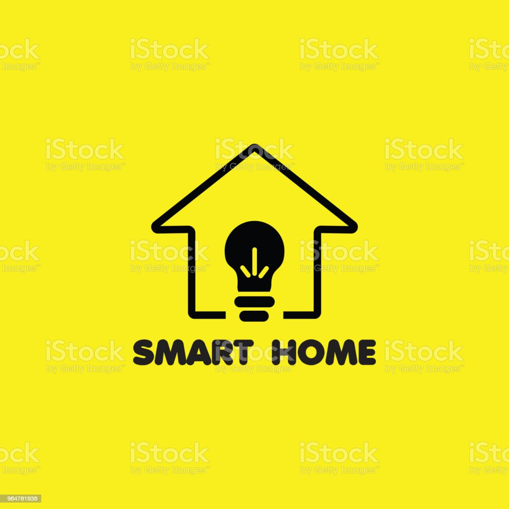 Smart Home Logo Vector Template Design royalty-free smart home logo vector template design stock vector art & more images of abstract