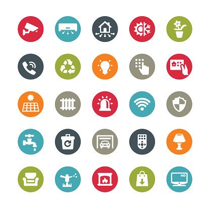 Smart House icons / Ringico series