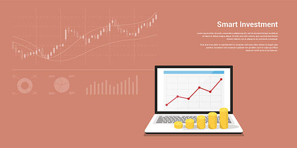 smart investment banner - Illustration vectorielle