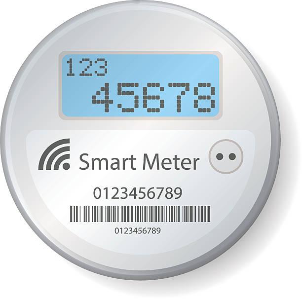 Power Meter Clip Art : Royalty free smart meter clip art vector images