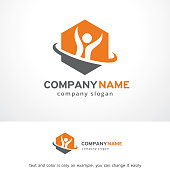 Smart People Symbol Template Design Vector, Emblem, Design Concept, Creative Symbol, Icon