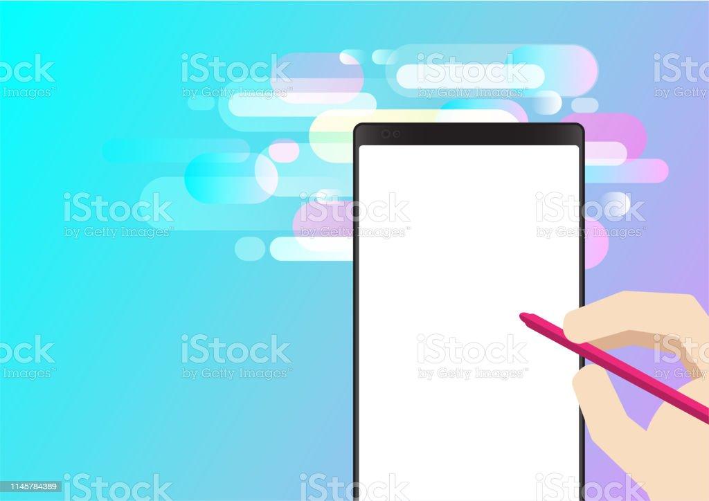 Hintergrund mobile phone