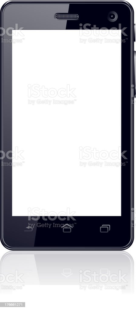 Smart Phone royalty-free smart phone stock vector art & more images of black color