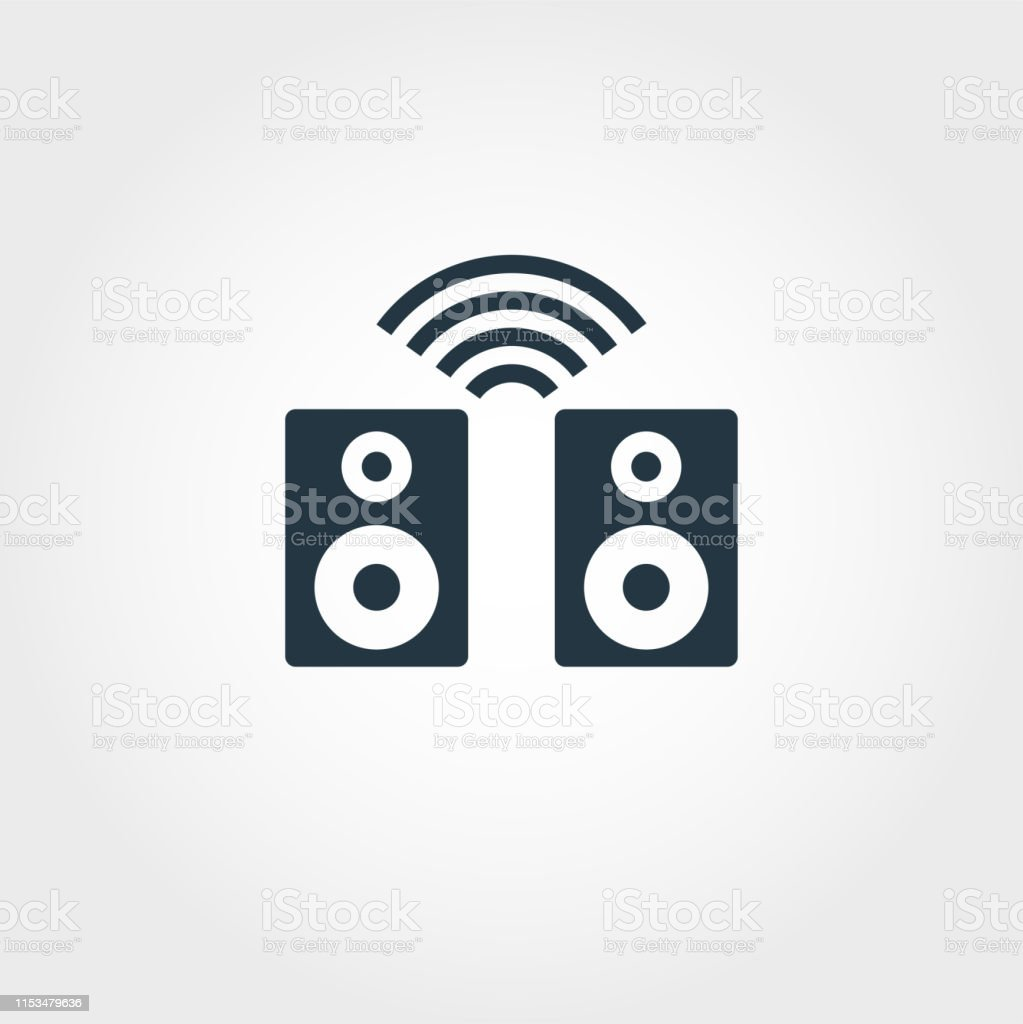 Smart Speaker Icon Monochrome Creative Design From Smart Devices Icon Collection Premium Smart Speaker Icon For Web Design Apps Software And More Stock Illustration Download Image Now Istock