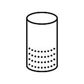 istock smart speaker icon 1136809044