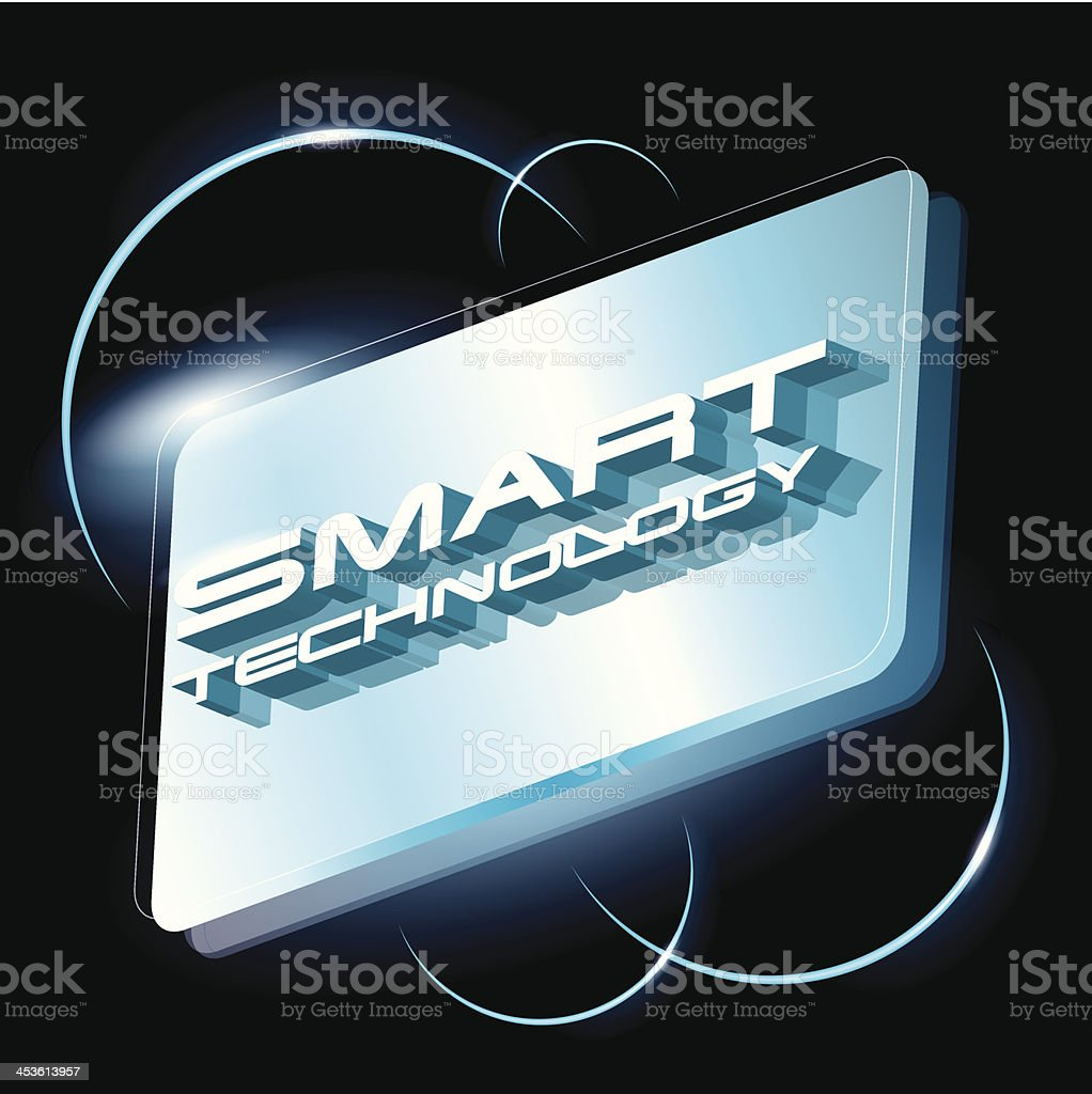 smart technology concept vector royalty-free stock vector art