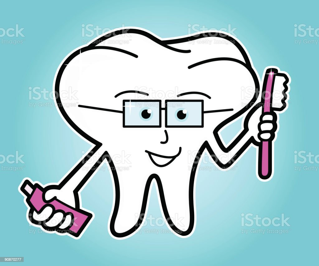 Smart Tooth royalty-free stock vector art