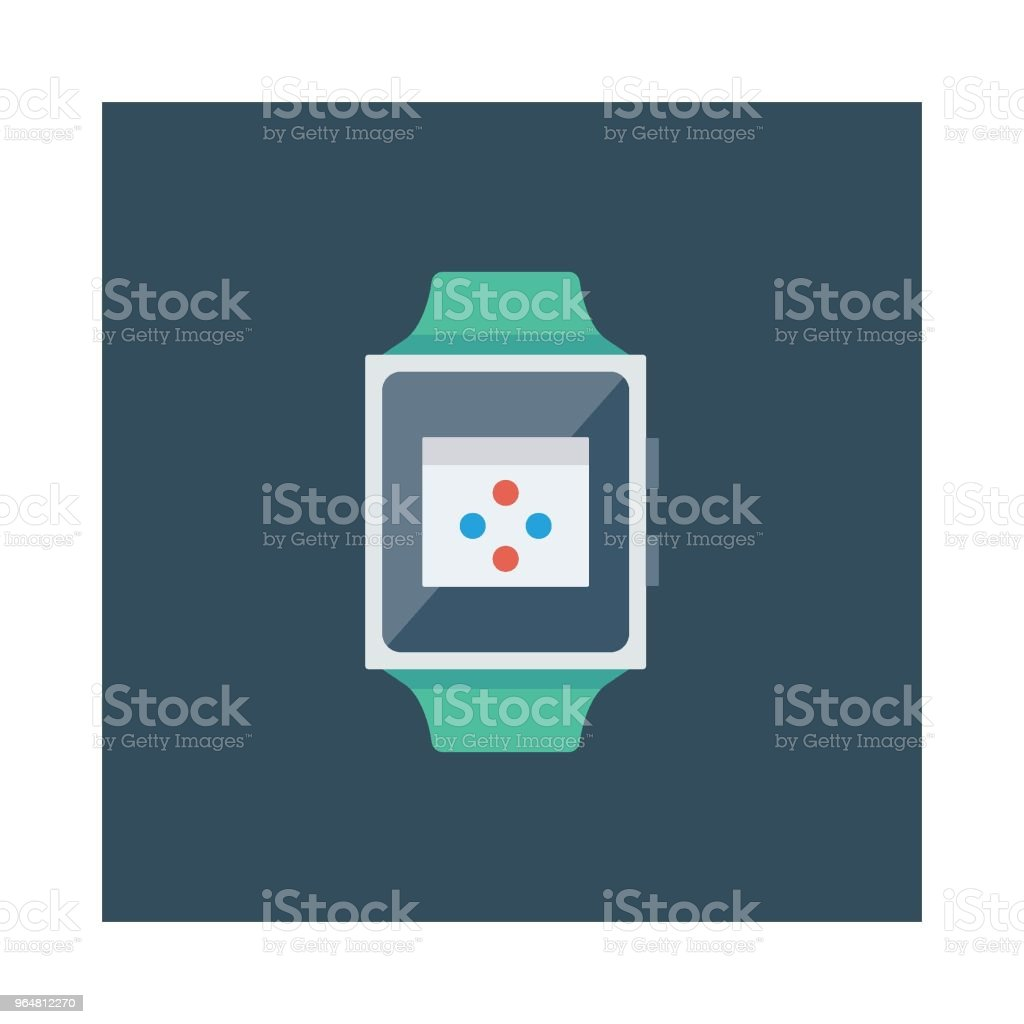 smart watch royalty-free smart watch stock illustration - download image now