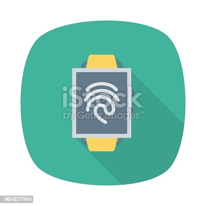 Smart Watch Stock Vector Art & More Images of Backgrounds 964827944