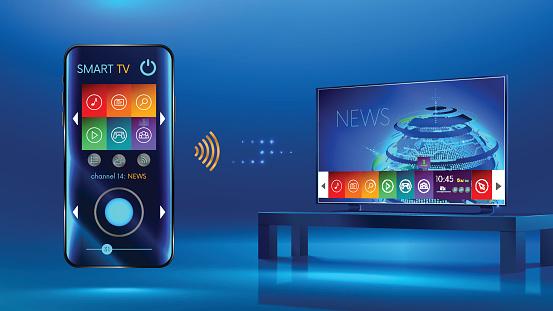 Smarttviotv2 - TVネットワークアップフロントのベクターアート素材や画像を多数ご用意