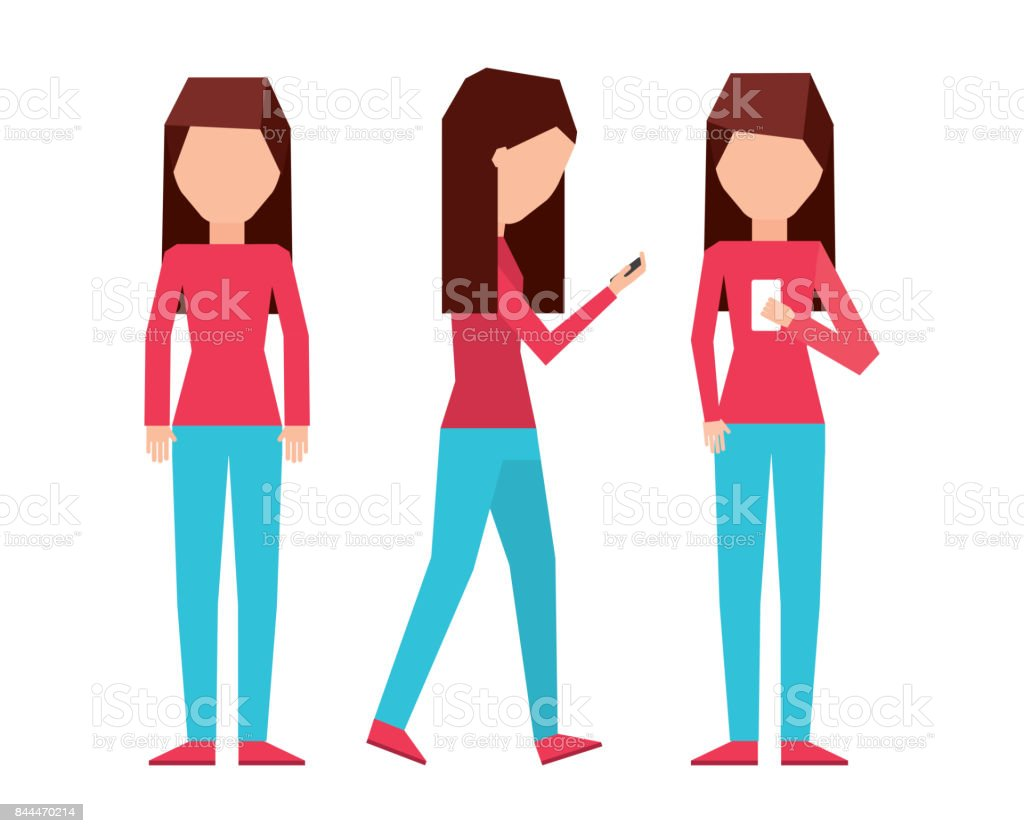 Smartphonesuchtdesign Vektor Illustration 844470214 | iStock