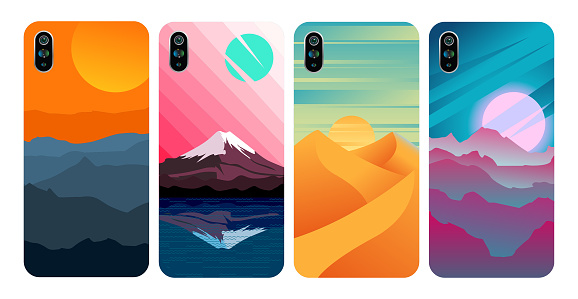 Smartphone cover, Stylish colored case