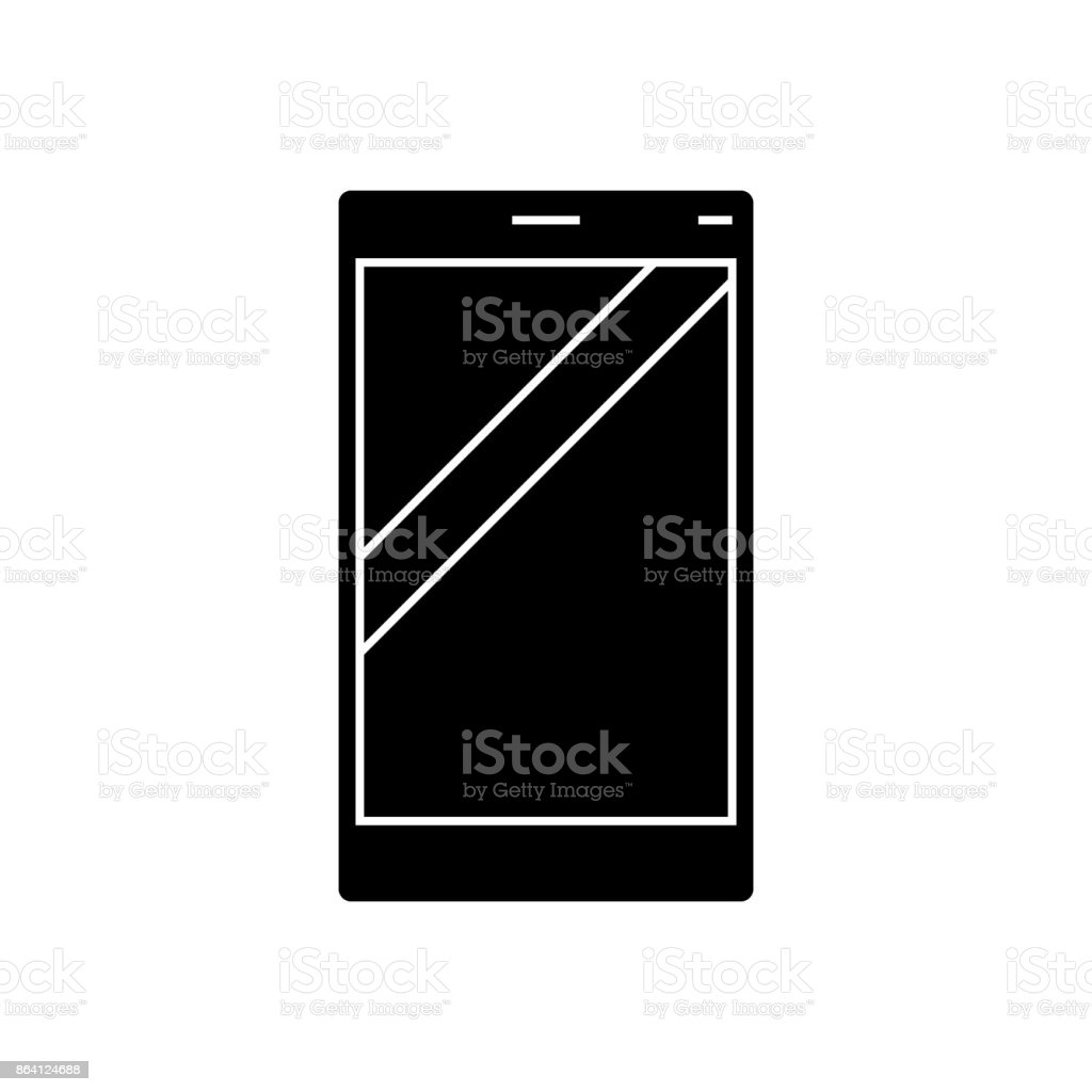 smartphone  icon, vector illustration, sign on isolated background royalty-free smartphone icon vector illustration sign on isolated background stock vector art & more images of adult